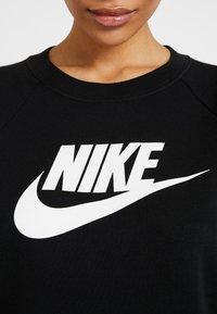 Nike Sportswear - CREW - Sweatshirt - black/white - 4