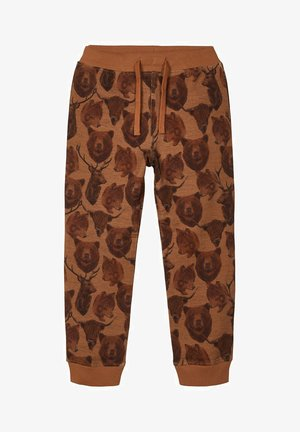 BÄRENPRINT - Tracksuit bottoms - medal bronze