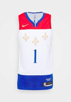 NBA NEW ORLEANS PELICANS ZION WILLIAMSON CITY EDITION SWINGMAN - Club wear - white