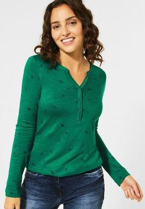 SYMBOLPRINT - Long sleeved top - grün