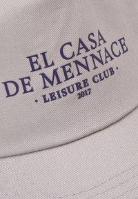 Mennace - EL CASA UNISEX - Lippalakki - grey - 3