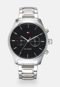 Tommy Hilfiger - SAWYER - Watch - silver-coloured/black - 0