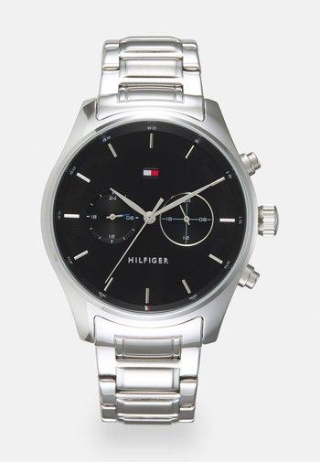SAWYER - Watch - silver-coloured/black