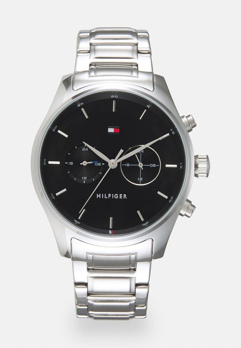 Tommy Hilfiger - SAWYER - Watch - silver-coloured/black