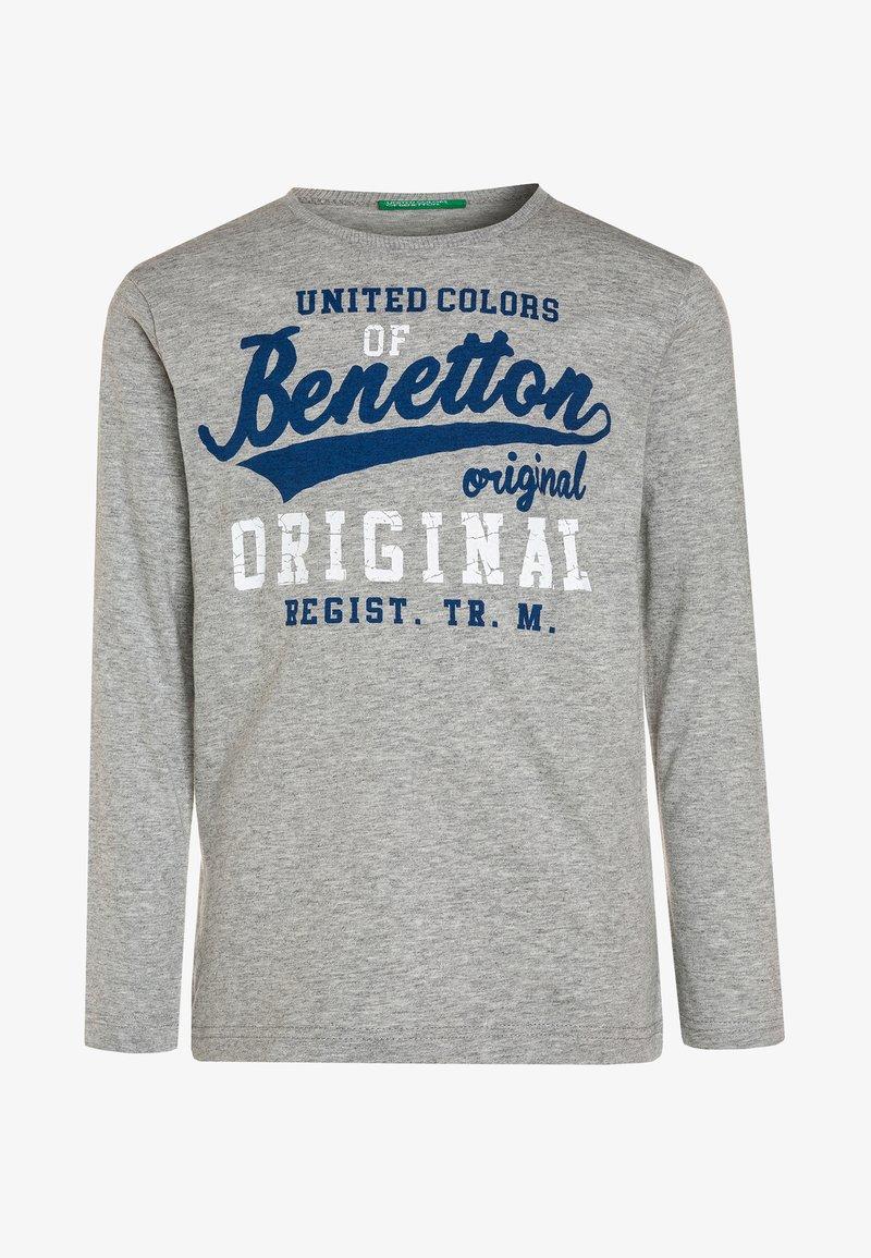 Benetton - Topper langermet - light grey