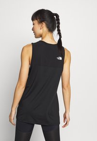 The North Face - WOMENS ACTIVE TRAIL TANK - Treningsskjorter - black - 2