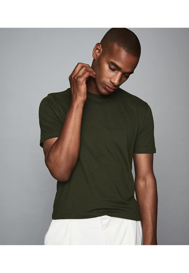 BLESS - Basic T-shirt - dark green