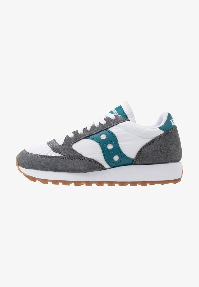 JAZZ VINTAGE - Matalavartiset tennarit - grey/white/teal