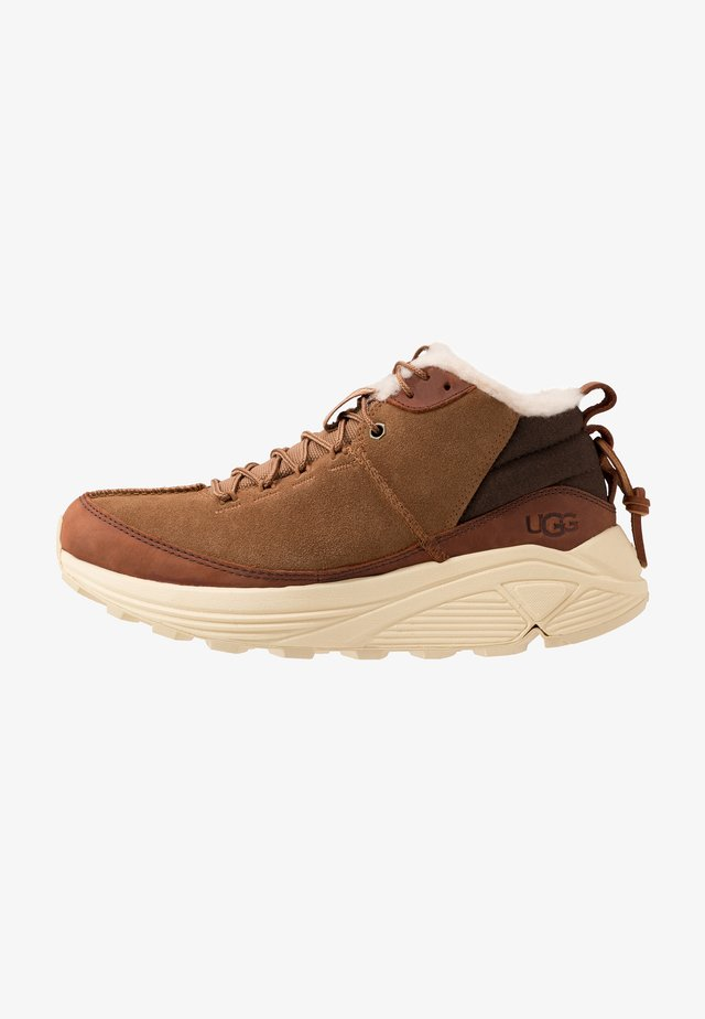 MIWO TRAINER - Sneakers alte - chestnut