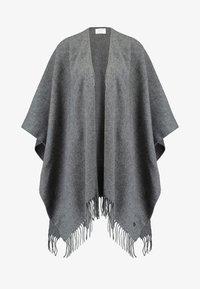 Fraas - Poncho - mid grey - 4