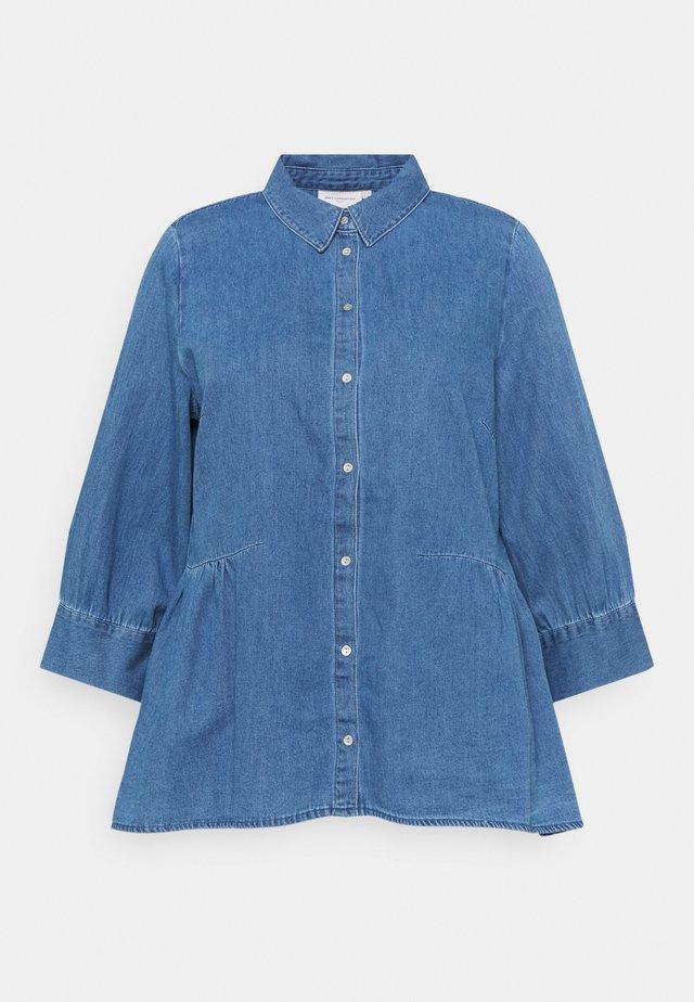 CARNEW CANBERRA AUTH - Skjorte - light medium blue denim