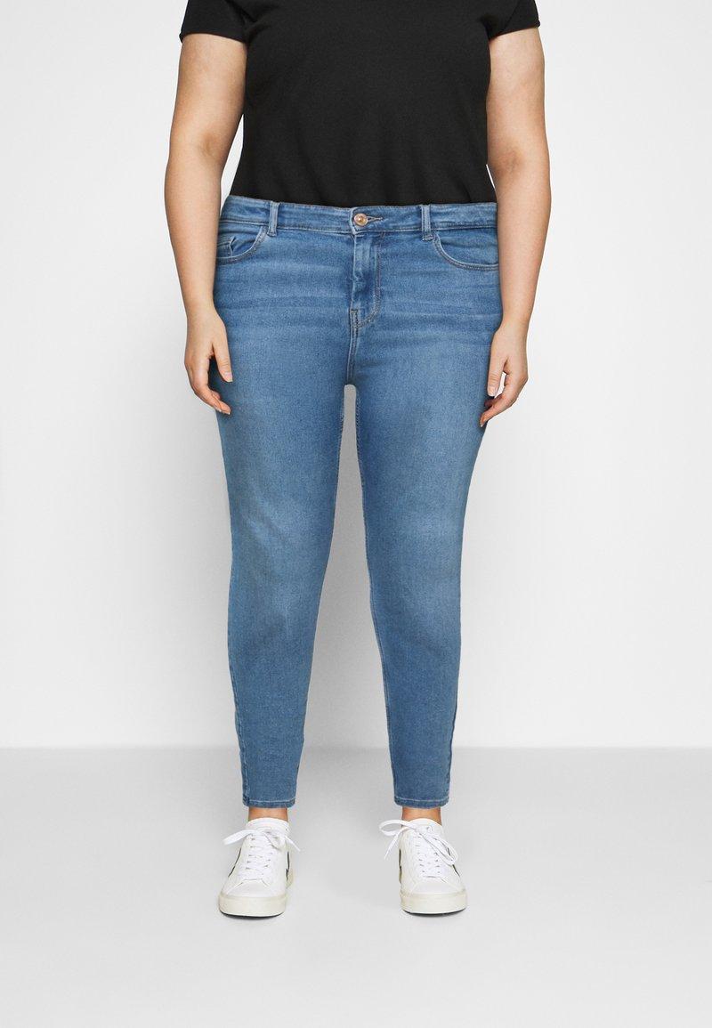 Pieces Curve - Jeans Skinny Fit - light blue denim