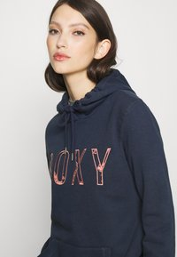 Roxy - RIGHT ON TIME - Jersey con capucha - mood indigo - 4