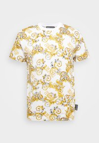 Versace Jeans Couture - PRINT NEW LOGO - T-Shirt print - bianco ottico - 6