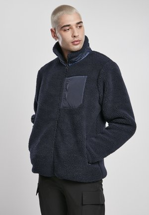 Fleece jacket - midnightnavy