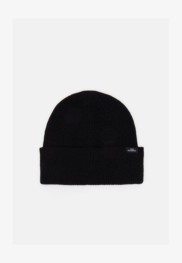 NEWTON UNISEX - Bonnet - black