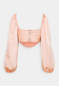 Missguided - BALLOON SLEEVE  - Long sleeved top - blush - 1