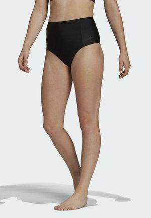 HIGH-WAISTED BIKINI BOTTOMS - Bikini bottoms - black