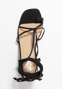 EGO - HESSI - Sandály s odděleným palcem - black - 3