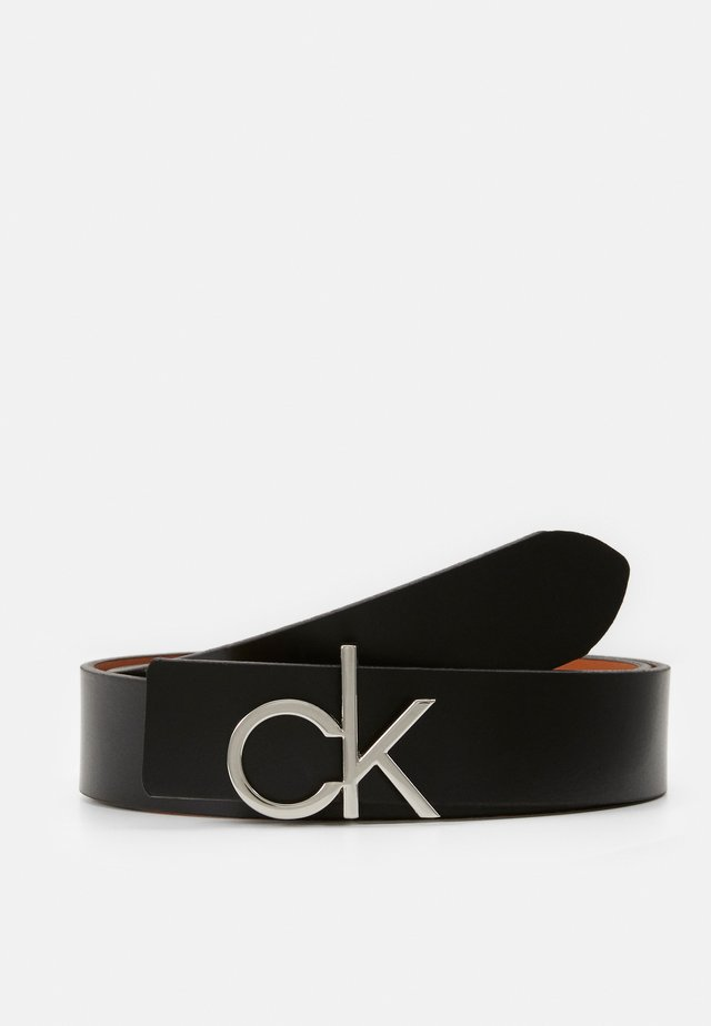 LOW GIFTPACK - Belt - black/cognac