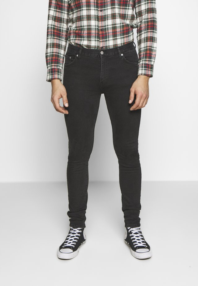 FORM TUNED - Relaxed fit jeans - black