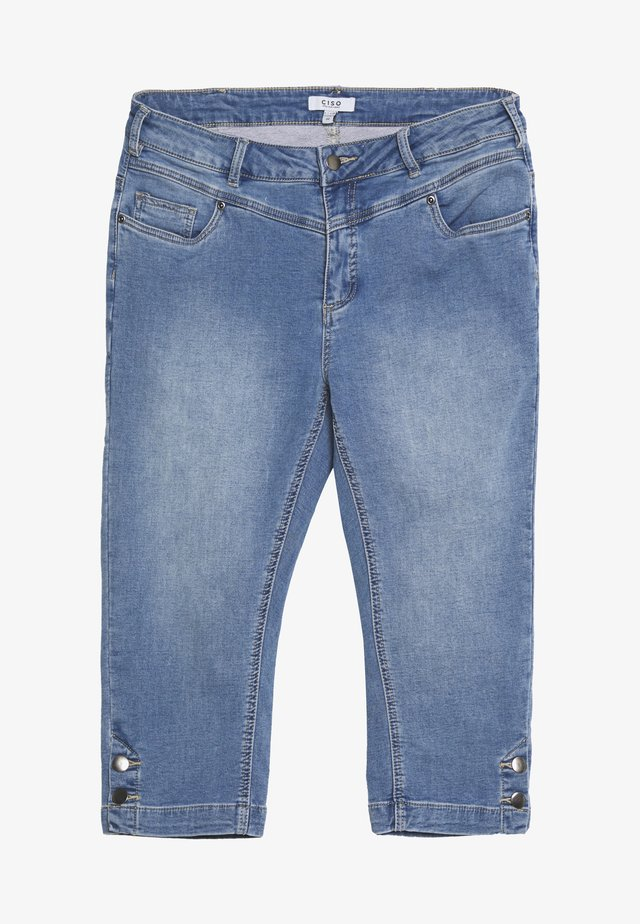 CAPRI JOG - Jeansy Straight Leg - denim blue