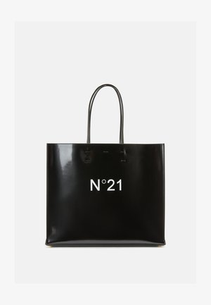 MAXI SHOPPING ORIZZONTALE KORAM - Tote bag - black
