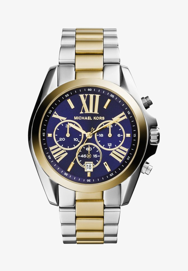 BRADSHAW - Chronograph watch - silberfarben/goldfarben