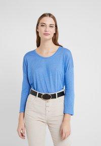 CLOSED - WOMEN´S - Long sleeved top - bluebird - 0