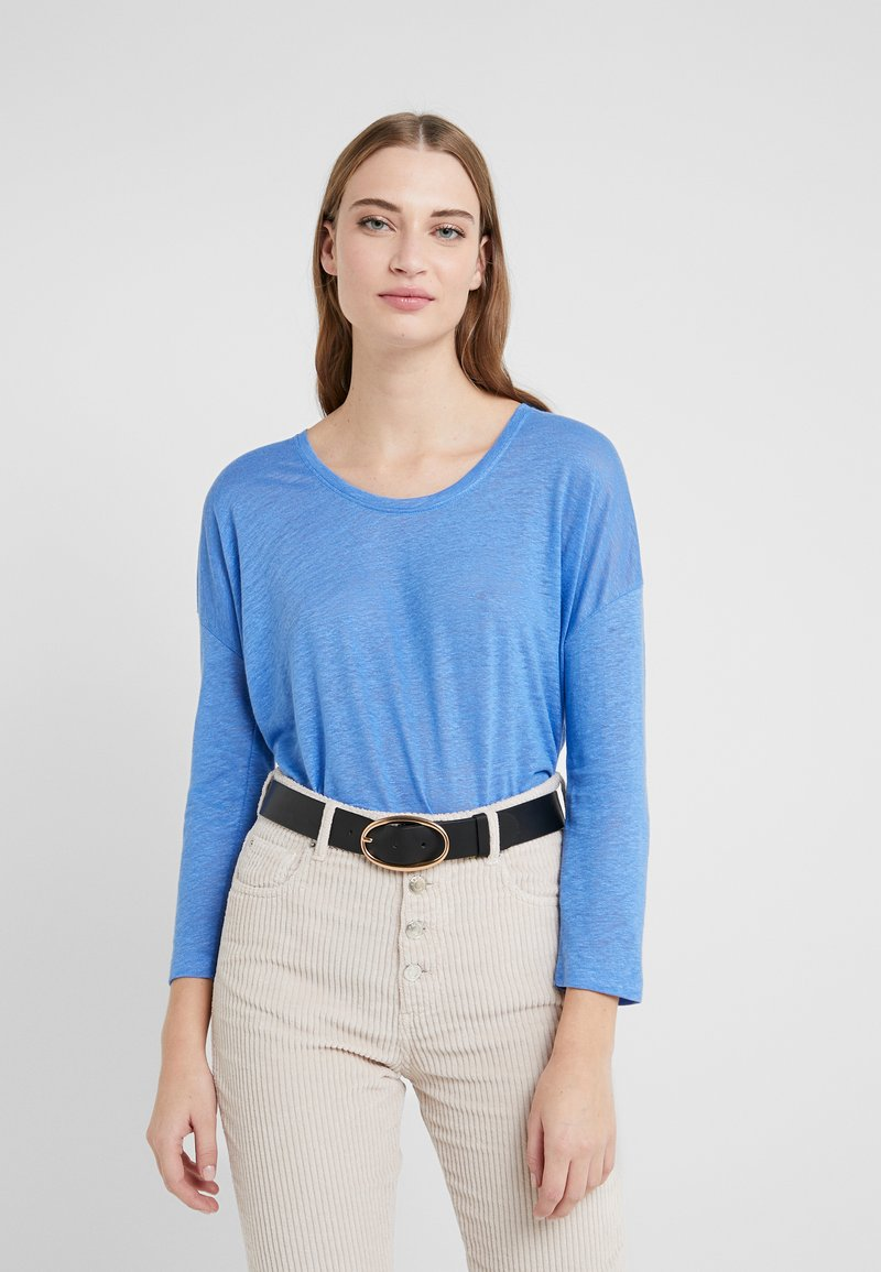 CLOSED - WOMEN´S - Long sleeved top - bluebird