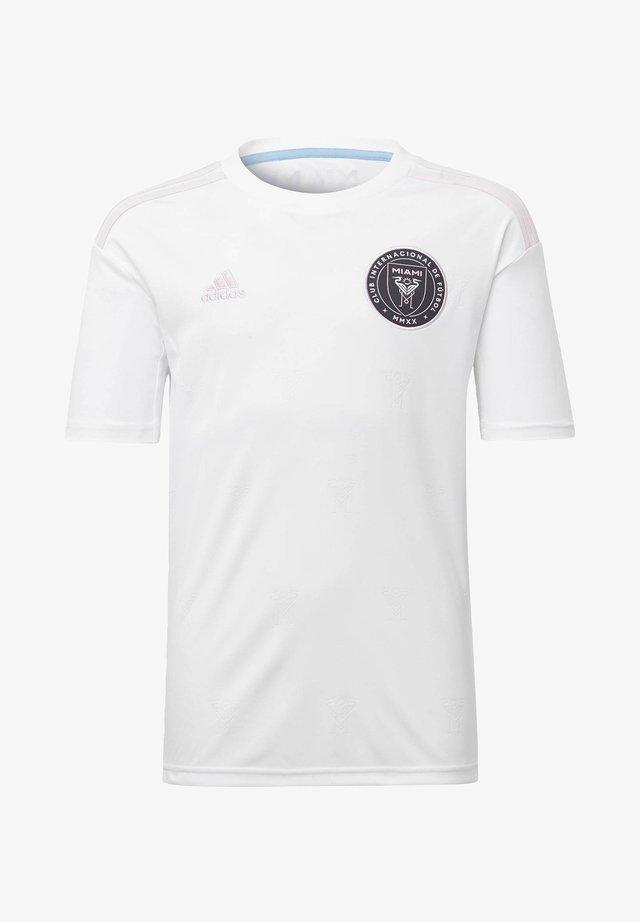 INTER MIAMI CF HOME JERSEY - T-shirt imprimé - white