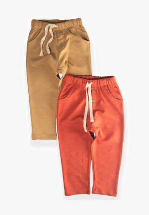 POCKET BUTTONED  PACK OF 2 - Tracksuit bottoms - red