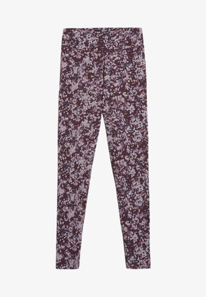 Leggings - Trousers - aubergine