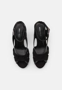 Anna Field - Platform sandals - black - 5