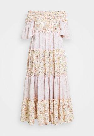 BARDOT MIDI DRESS - Maxi šaty - pink