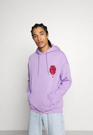 Mikina skapucí - lilac