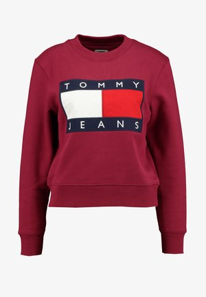 TJW TOMMY FLAG CREW - Sweater - rhododendron