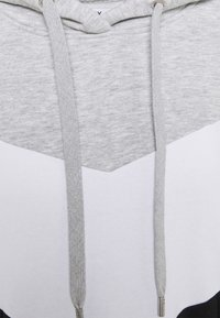 ONLY - ONLPEAR LONG BLOCKING - Day dress - light grey melange/white black - 2