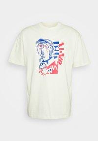 Nike SB - TEE SLURP UNISEX - T-shirt med print - coconut milk - 0