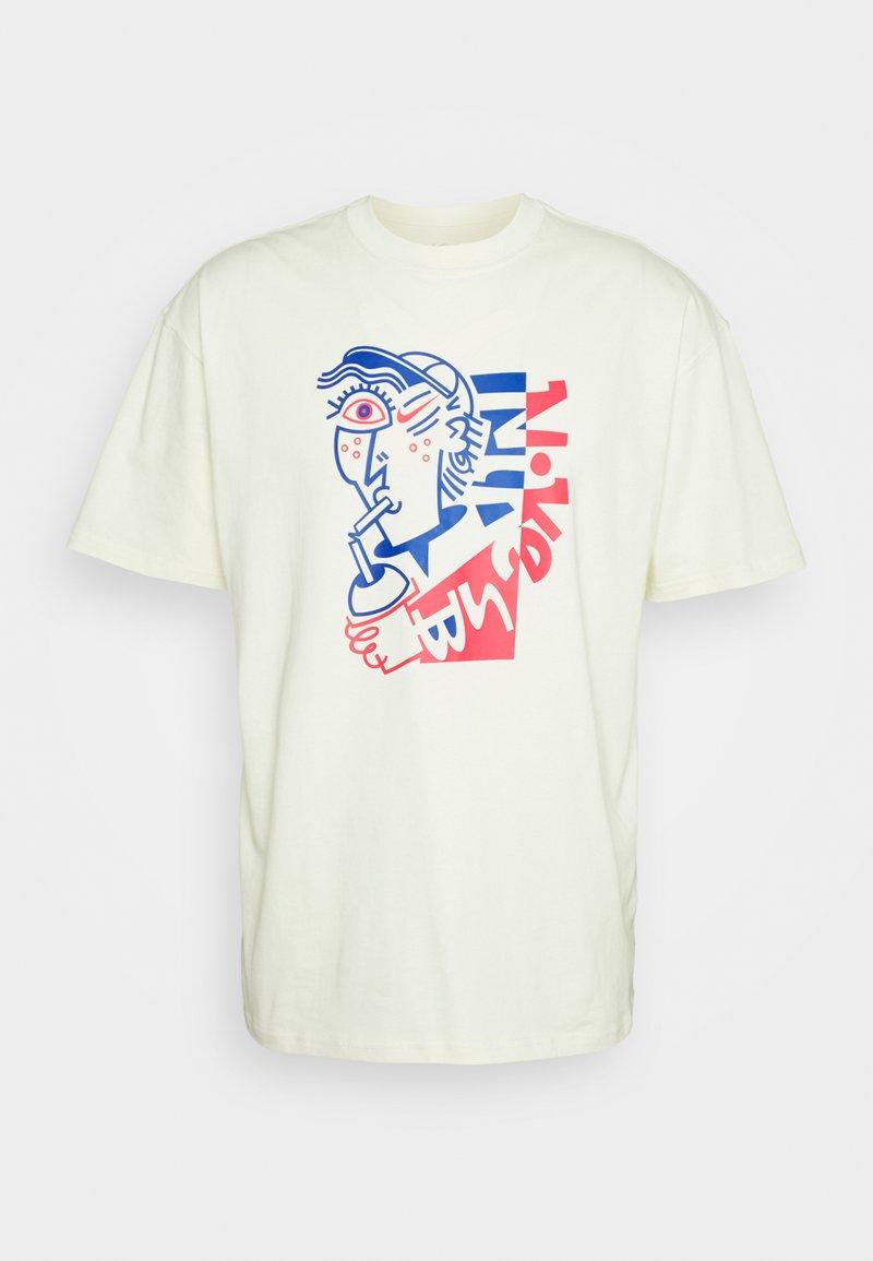 Nike SB - TEE SLURP UNISEX - T-shirt med print - coconut milk