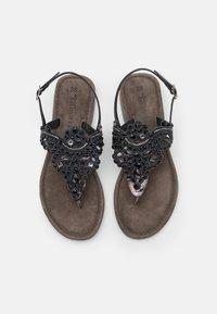 Tamaris - T-bar sandals - pewter - 5