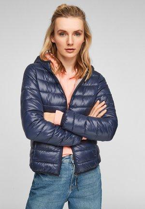 MIT KAPUZE - Winter jacket - medium blue