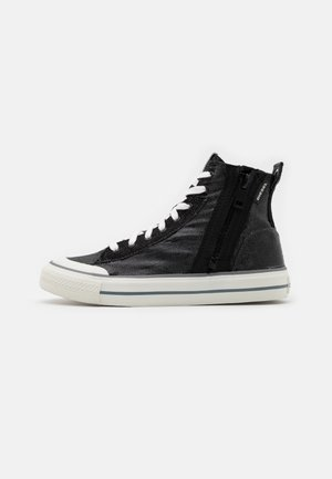 ASTICO S-ASTICO MID ZIP - High-top trainers - black