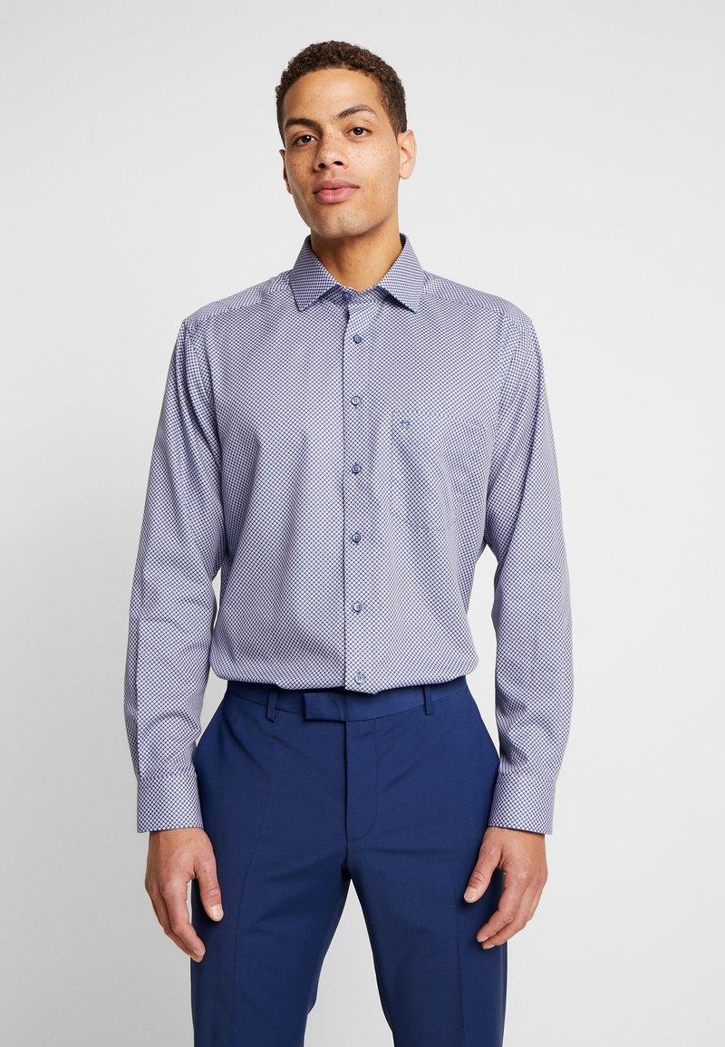 OLYMP Luxor - OLYMP LUXOR MODERN FIT - Shirt - blue/red