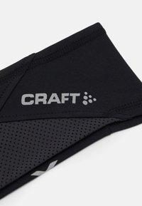 Craft - LUMEN HEADBAND UNISEX - Ear warmers - black - 3