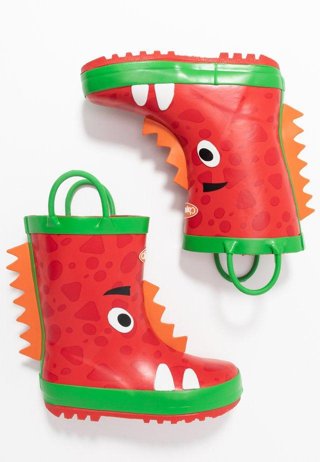 ZIGGY - Gummistövlar - red