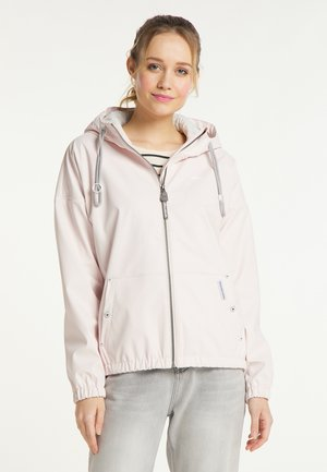 Waterproof jacket - blassrosa