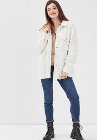 Cache Cache - Fleece jacket - ecru - 1
