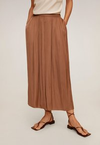 Mango - MEMORY - Trousers - marron - 0