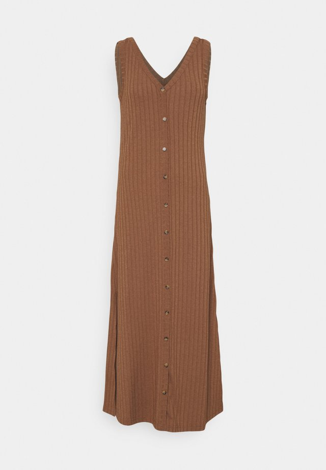 BYSILKI LONG DRESS - Jumper dress - thrush